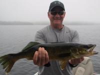 Pêche au doré sur le lac Nasigon au Fer à Cheval
