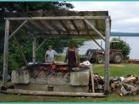 shore-lunch-pourvoirie-fer-a-cheval-lac-nasigon-francois-thouin