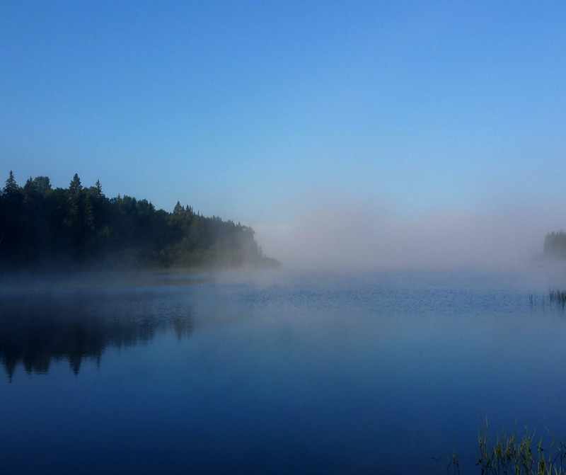 nuits froides paysages magnifiques sur le lac