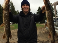 pêche brochet laurentides