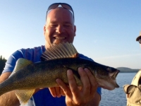 Pêche au doré sur le lac St-Denis