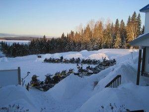 Snowmobiling TQ13 Pourvoirie Fer A Cheval Upper Laurentians