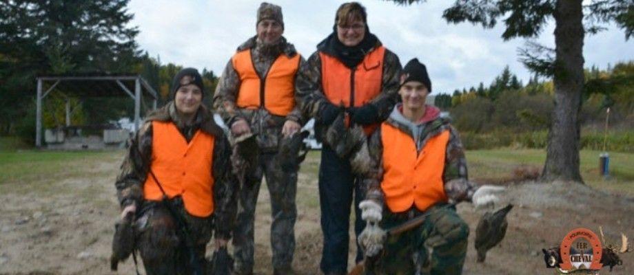 Activité familiale: la chasse au petit gibier!