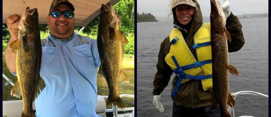 Pêche au brochet en ponton sur le lac Nasigon