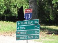 Sentier TQ 13 Randonnees VTT et Motoneige