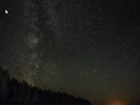 ciel étoilé aux abords du Lac Nasigon