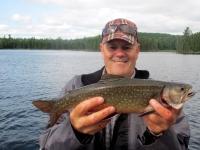 Pêche à la truite et au doré sur le lac Duchastel