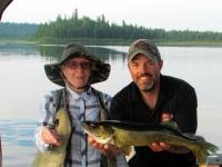 Pêche au doré sur le lac Nasigon en ponton