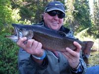 Pêche à la truite mouchetée à la pourvoirie Fer à Cheval, Laurentides