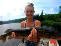 Pêche au brochet sur le lac Gobin au Fer à Cheval