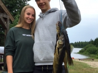 Pêche au doré et à la truite au Fer à Cheval