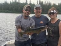 Sortie de pêche en ponton sur le lac Nasigon