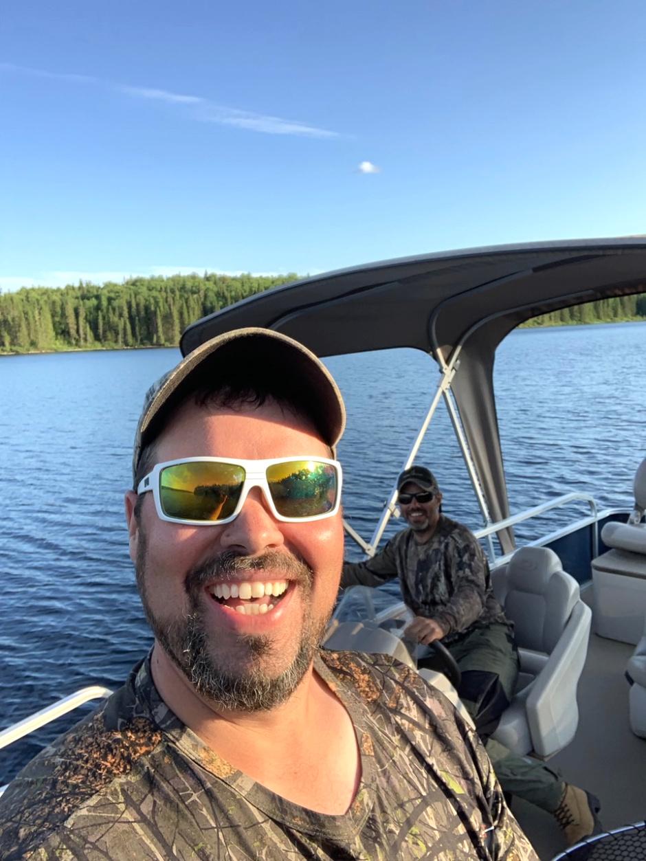 Nos guides de pêche Bobby et Eric