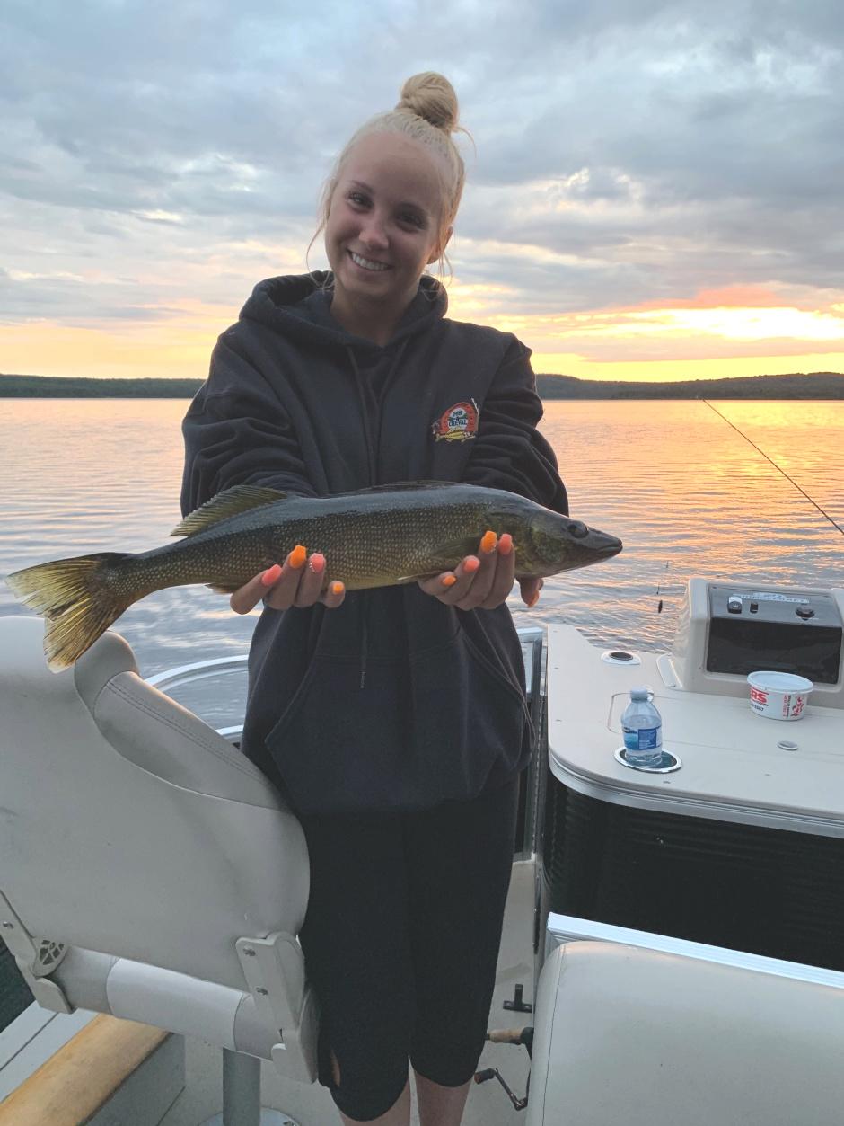 Pêche au doré sur le lac Nasigon