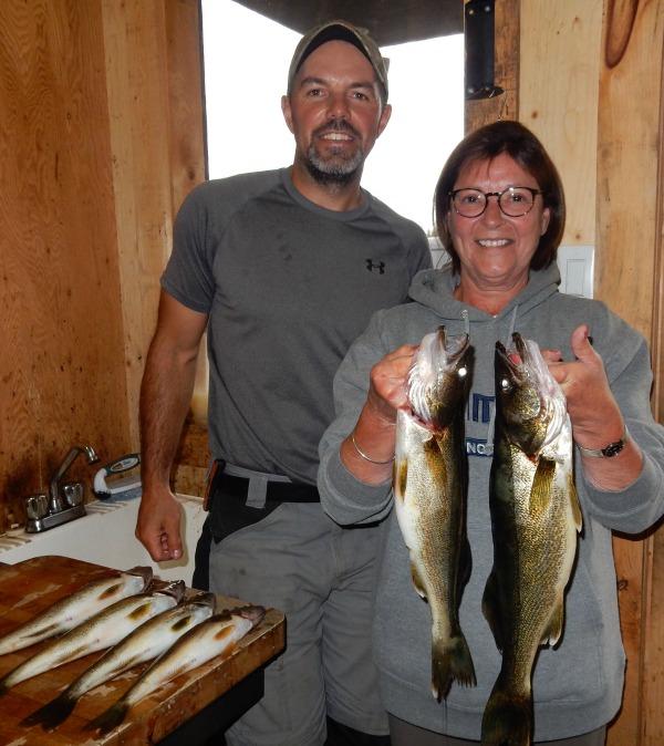 pêche doré et brochet