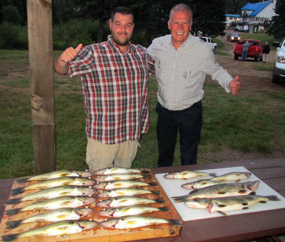 Pêche au doré au Lac Lajoue