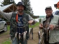 Pêche à la truite- Pourvoirie fer à Cheval (Laurentides)