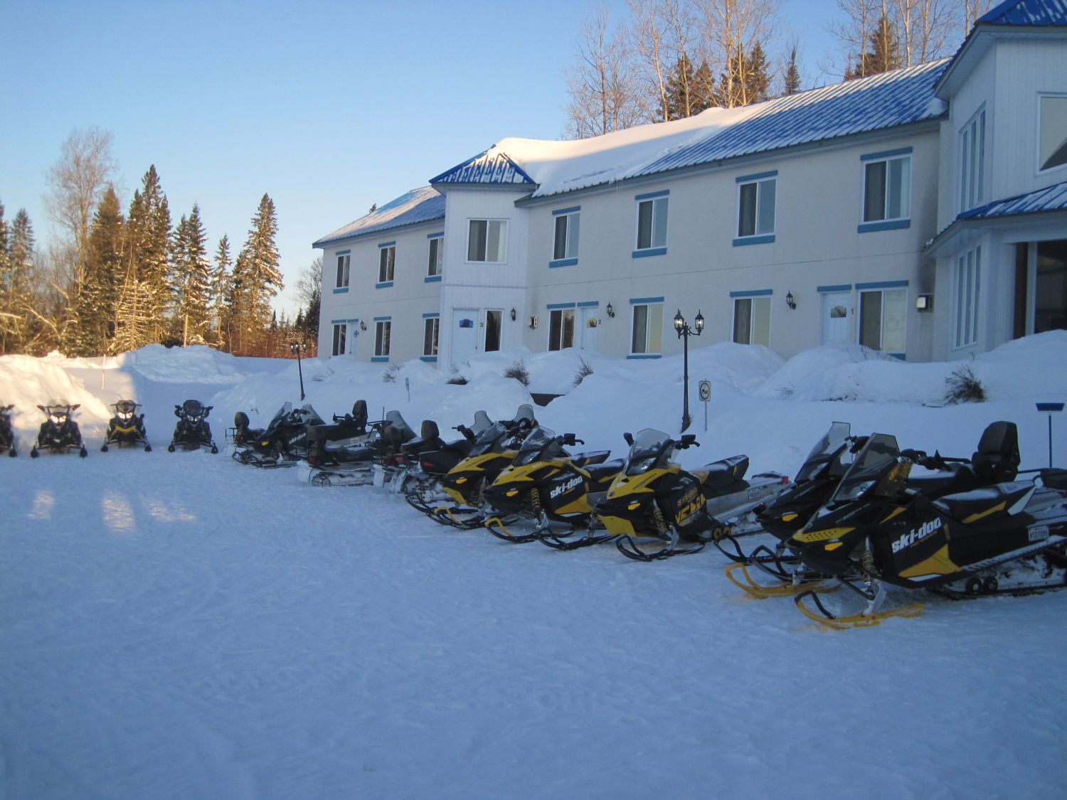 Snowmobiling Adventures is at our doors..