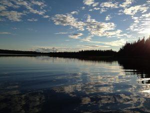 Lac St-Denis à la pourvoirie du fer à Chevalto: Sylvie Pilon