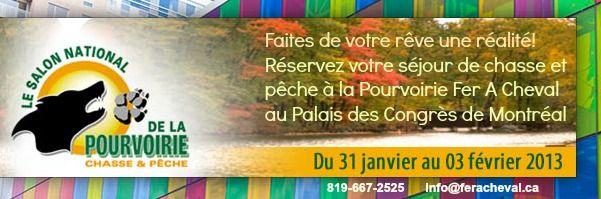 palaisdescongres-salon chasse peche 2013-pourvoirie-fer-a-cheval-hautes-laurentides