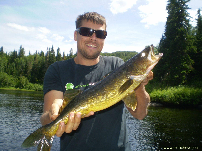 La pêche sur le lac de Lipetsk