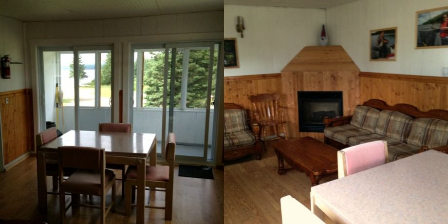 Huard Cabin on lake Nasigon is now completel renovated !