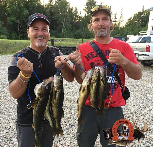 La pêche en pourvoirie