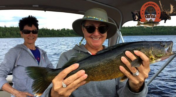 pêche au doré Pourvoirie Fer a Cheval