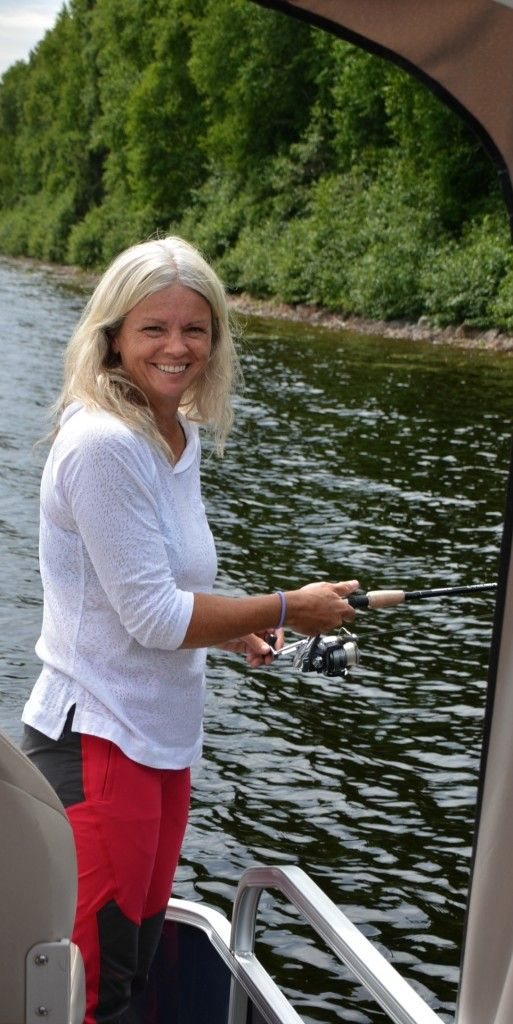 pêche ponton pourvoirie Fer à Cheval