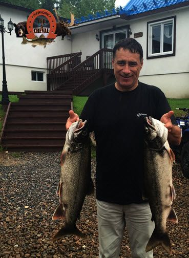 Pêche truite grise