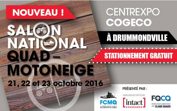 Salon National Quad Motoneige Drummondville