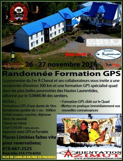 Formation GPS Quad
