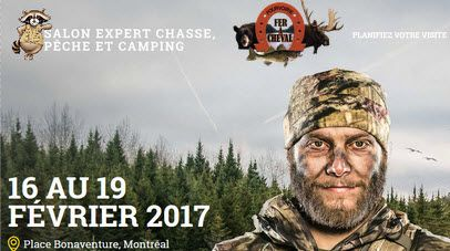 Montreal Hunting Fishing & Camping Show – Place Bonaventure