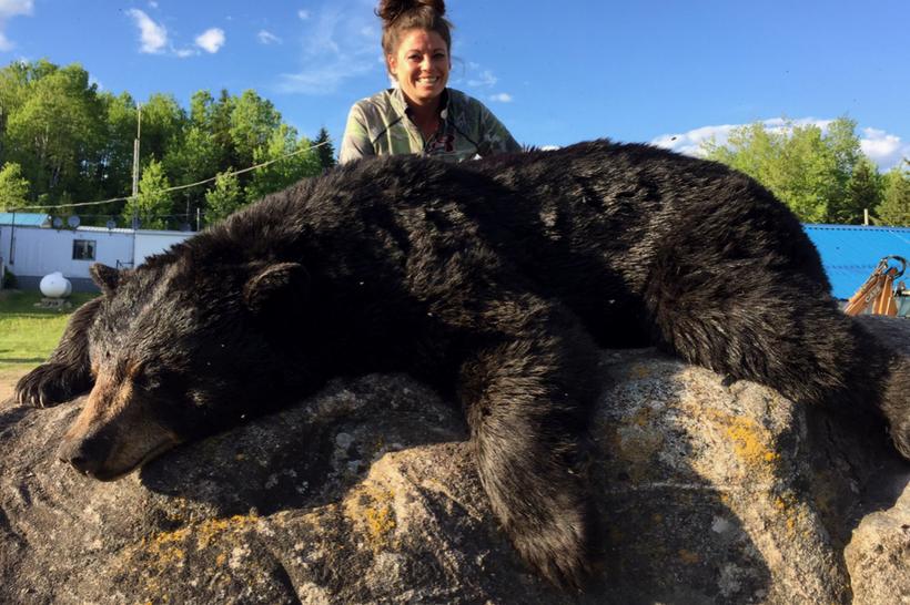 Chasse ours noir pourvoirie fer a cheval 820 1