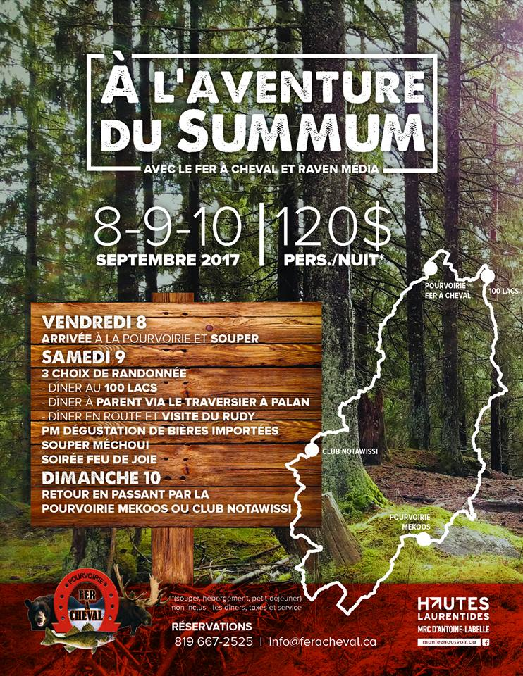 Aventure Quad Sentier summum