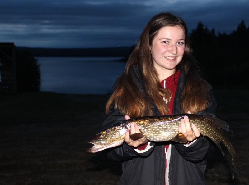 Pêche au brochet Lac Nasigon