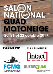 Salon National Quad Motoneige 2017 à Drummondville!