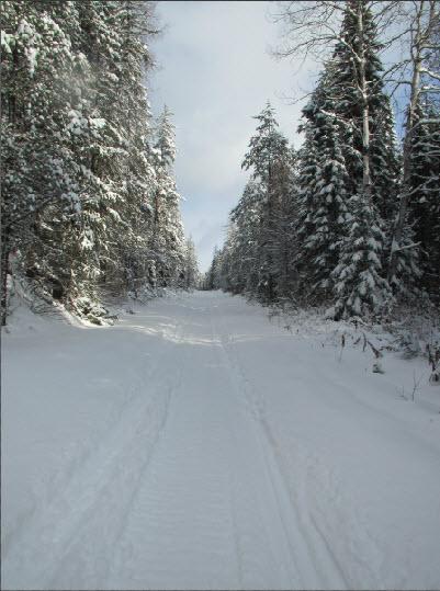 Sentier motoneige TQ13 Hautes-Laurentides