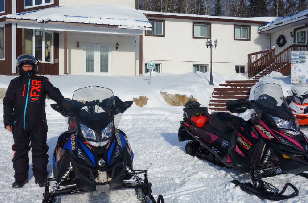 Favorite Stop Over Place For Snowmobilers on TQ13