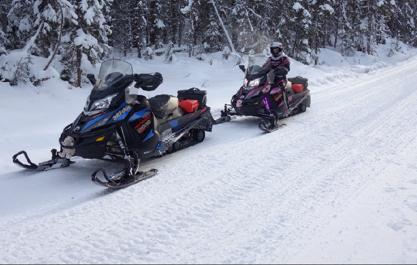 snowmobile trails upper laurentians