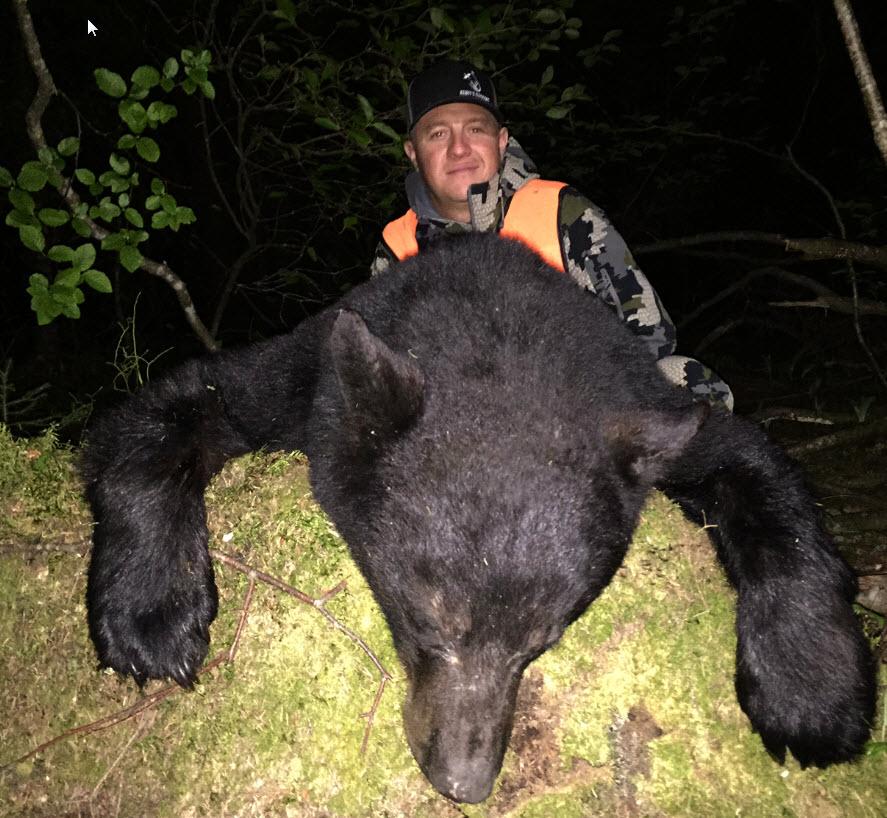 chasse à l'ours à la pourvoirie du fer à Cheval