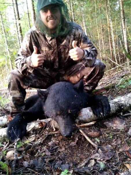 chasse à l'ours a la pourvoirie du Fer à Cheval