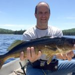 pêche au doré avec Francois Thouin
