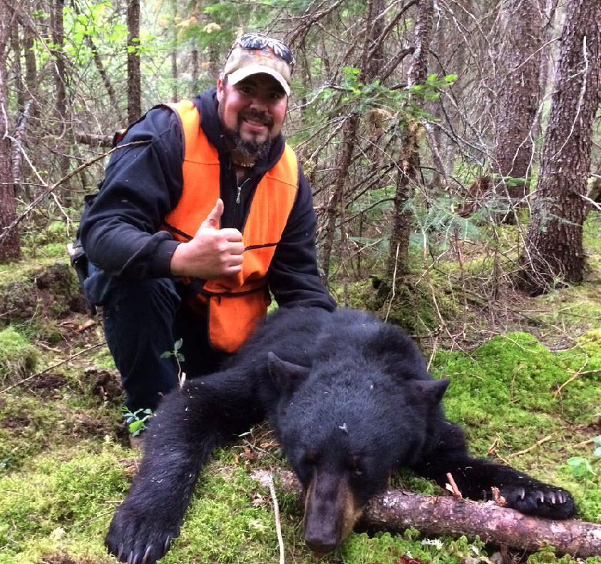 Chasse à l'ours dans les Laurentides