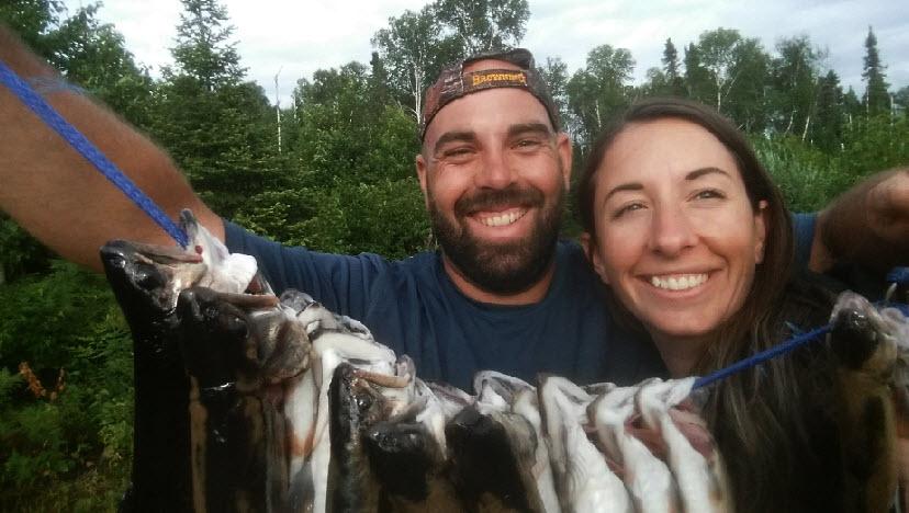 Vacances de pêche à la truite, au doré et au brochet