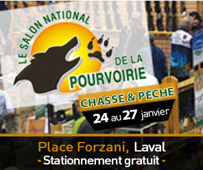 Salon National de la Pourvoirie Laval 2019 Place Forzani