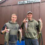 Pêche à la truite à la pourvoirie du Fer à Cheval